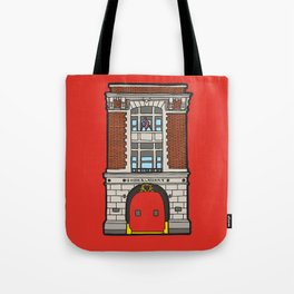 Ghostbusters Fire Station Tote Bag