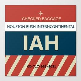 George Bush Intercontinental Airport Canvas Print