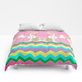 Easter Chevron Pattern Comforters