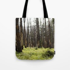 YELLOWSTONE FOREST Tote Bag