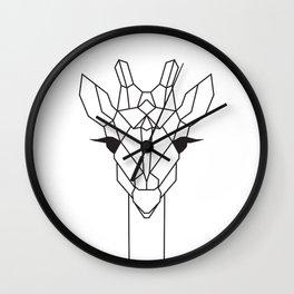 raya goods : jamie the giraffe Wall Clock