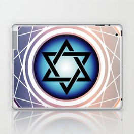 Jewish Star of David Laptop & iPad Skin