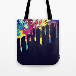 Dripping nebulas Tote Bag