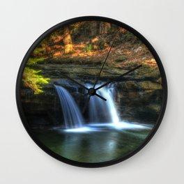 Surreal Cascade Wall Clock