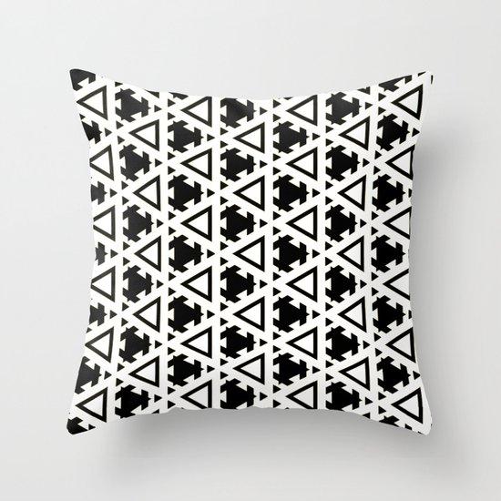 Jeremiassen Black & White Throw Pillow