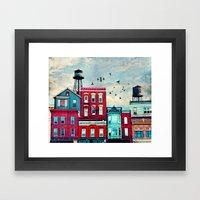 A North Avenue Framed Art Print