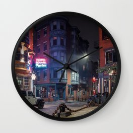 North Square Oyster 1 Wall Clock