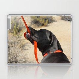 Dog in Joshua Tree National Park Laptop & iPad Skin