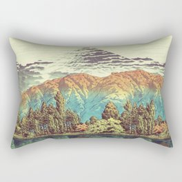 The Unknown Hills in Kamakura Rectangular Pillow