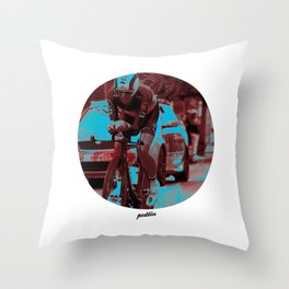 Leopard-Trek Colours Throw Pillow