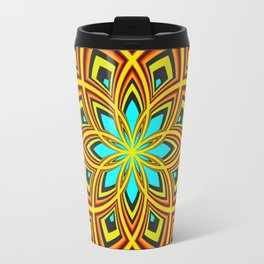 Spiral Rose Pattern D 2/4 Travel Mug