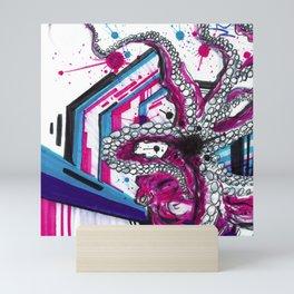 Octopus' Abstract Adventures Mini Art Print
