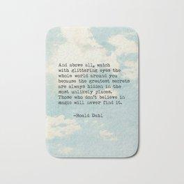 Roald Dahl Glittering Eyes Bath Mat
