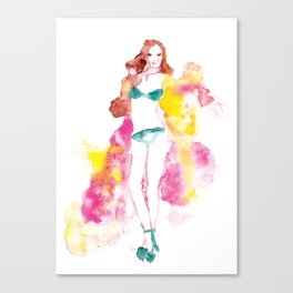 Rainbow Fashion Canvas Print