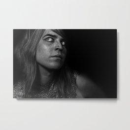 Struck by a Goddess II Metal Print
