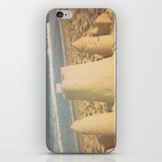 Sand Castle Summer Beach Polaroid iPhone & iPod Skin