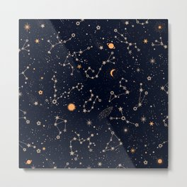 Starry Night IV Metal Print