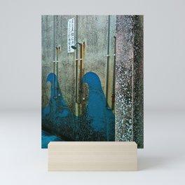 Wave Shower Stall Mini Art Print