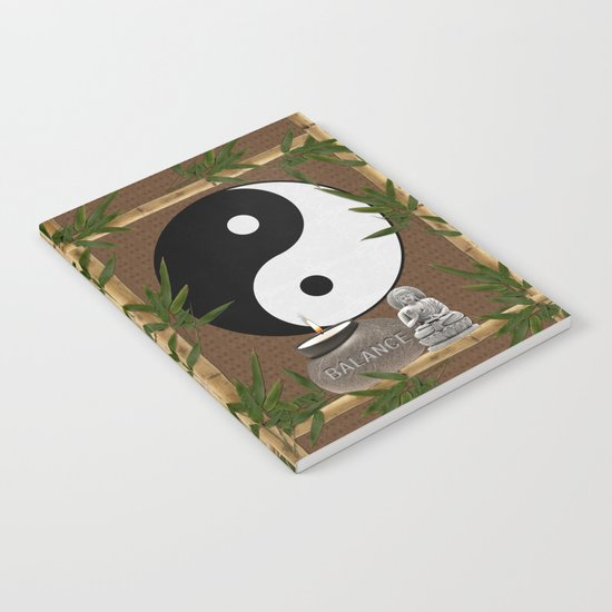The Balance of Yin Yang Notebook