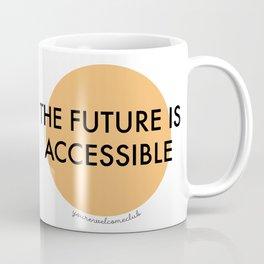 The Future is Accessible - Orange Coffee Mug