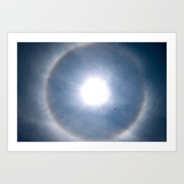 Rainbow Around the Sun Art Print