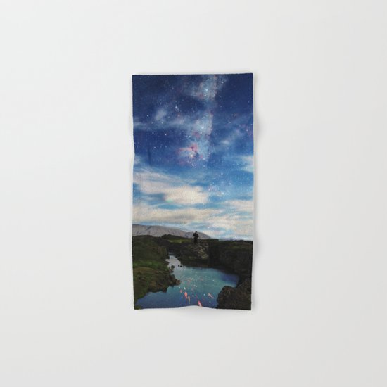 Samurai's dream of love Hand & Bath Towel