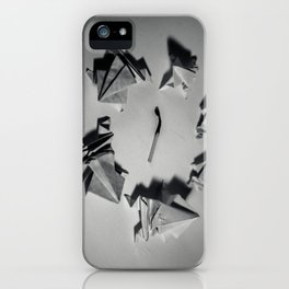Paper Frogs Celebrate Victory over the Tyranny of Fire iPhone Case