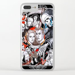 The Fate of the Reaper Clear iPhone Case