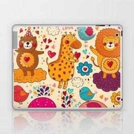 Animals in love Laptop & iPad Skin