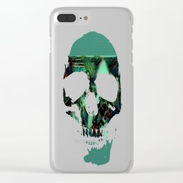 Peep Show Ghouls Clear iPhone Case