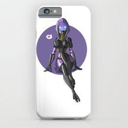 Tali Zorah from Mass Effect - Cute pinup iPhone Case