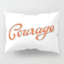 Life shrinks or expands... Pillow Sham