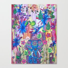 Live Gently Upon This Earth Canvas Print