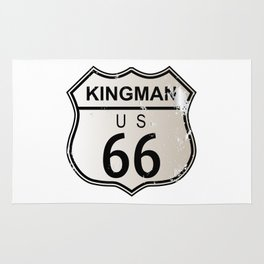 Kingman Route 66 Rug