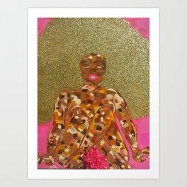 Skin Toney 2 Art Print