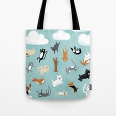 Raining Cats & Dogs Tote Bag