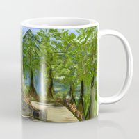 Rittenhouse Square in the Spring Mug
