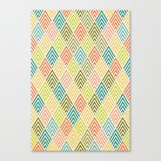 Citronique Series: Forêt Sorbet Canvas Print