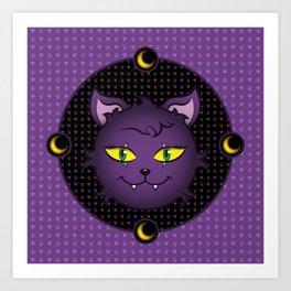 Crescent - Monster High Pet Art Print