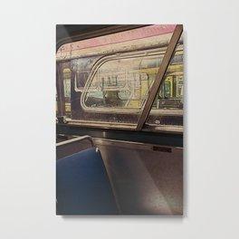 empty bus Metal Print