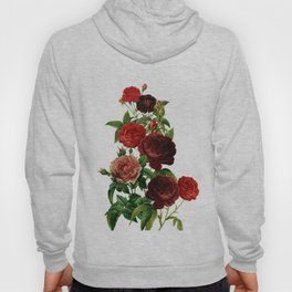 Vintage & Shabby Chic - Red Roses Hoody