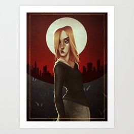 Firestarter Kate Art Print