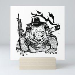 Boss Frog Mini Art Print