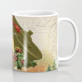 Antique Santa wih pipe Merry Christmas Coffee Mug