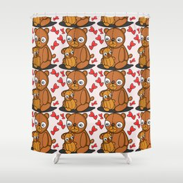 Mom's Bear Love Shower Curtain