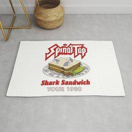 Spinal Tap - Shark Sandwich Tour 1980 Rug
