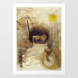 bcsm 001 (captain) Art Print