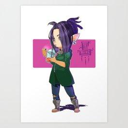 Smoul Sookie Art Print