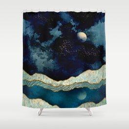 Indigo Sky Shower Curtain