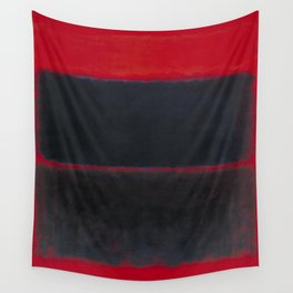 1957 Light Red Over Black by Mark Rothko HD Wall Tapestry